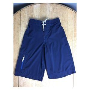 Hanna Andersson Boys Size 150/12Blue Swim Trunks